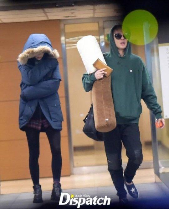 dispatch kpop idol dating rumors