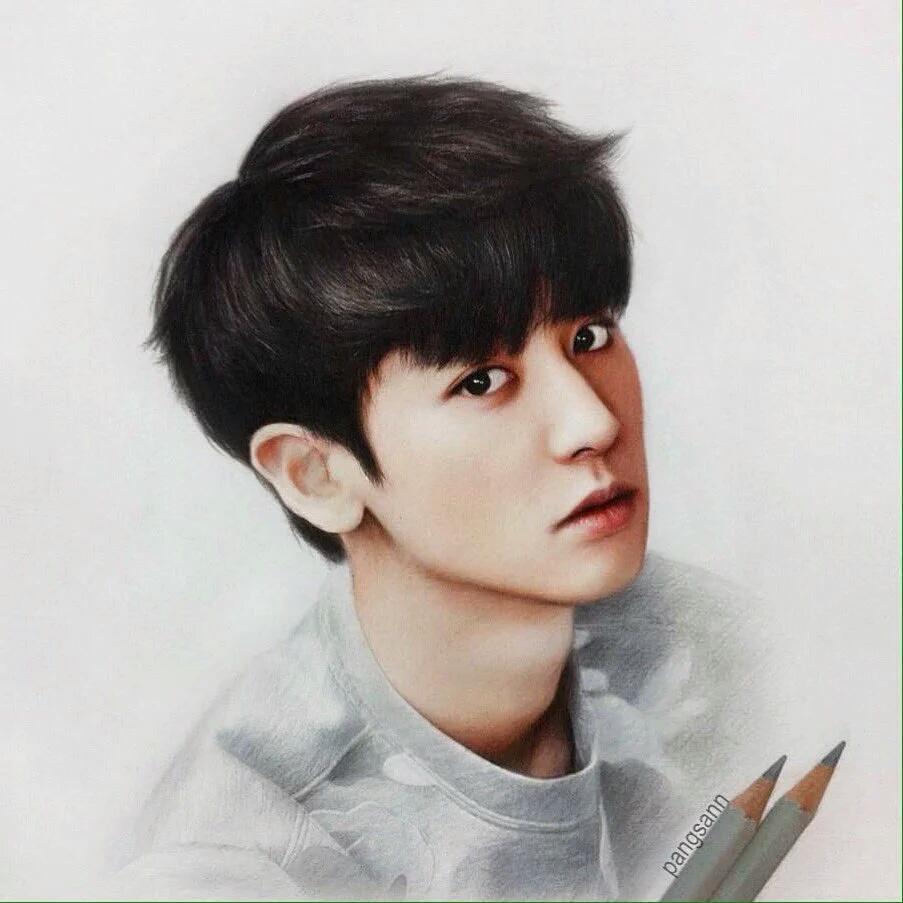 EXO Chanyeol drawing