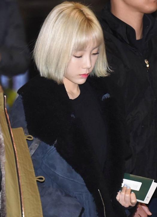 13 Photos Unveil Taeyeon S Drastic New Hairstyle Change