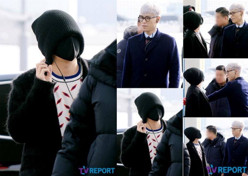 Duh! G-Dragon dan T.O.P BigBang Tampil Aneh di Bandara Incheon