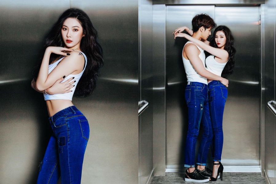Hyuna and Yang Hongseok are sexy partners for Clride's ...