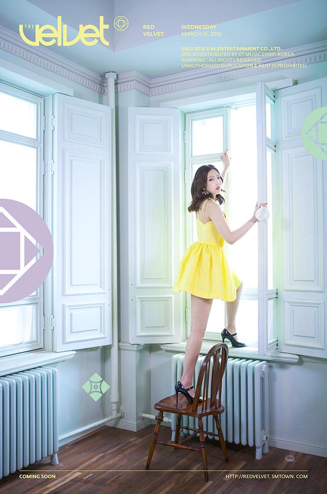 Image: Red Velvet's Joy for The Velvet / SM Entertainment