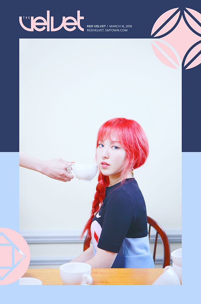 Image: Red Velvet's Wendy for The Velvet / SM Entertainment