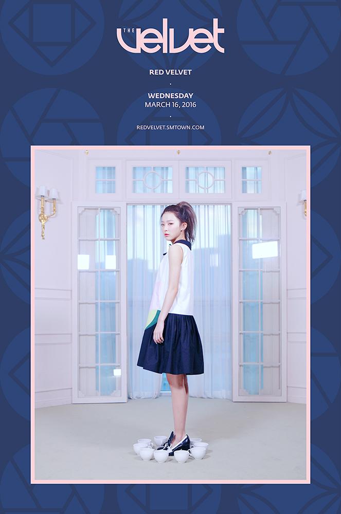 Image: Red Velvet's Seulgi for The Velvet / SM Entertainment