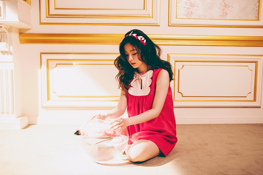 Image: Red Velvet's Irene for The Velvet / SM Entertainment