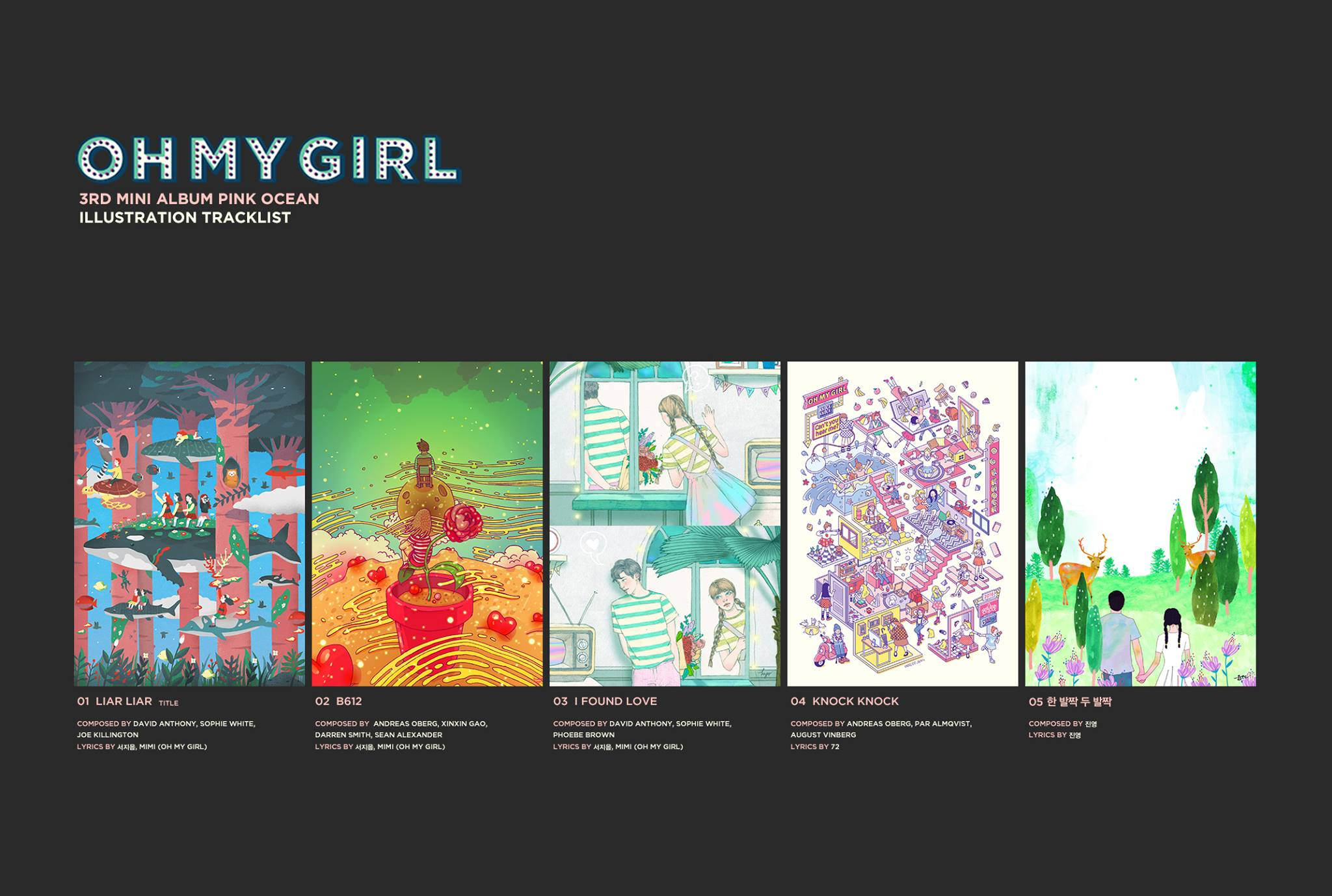 Image: Oh My Girl LIAR LIAR EP / WM Entertainment
