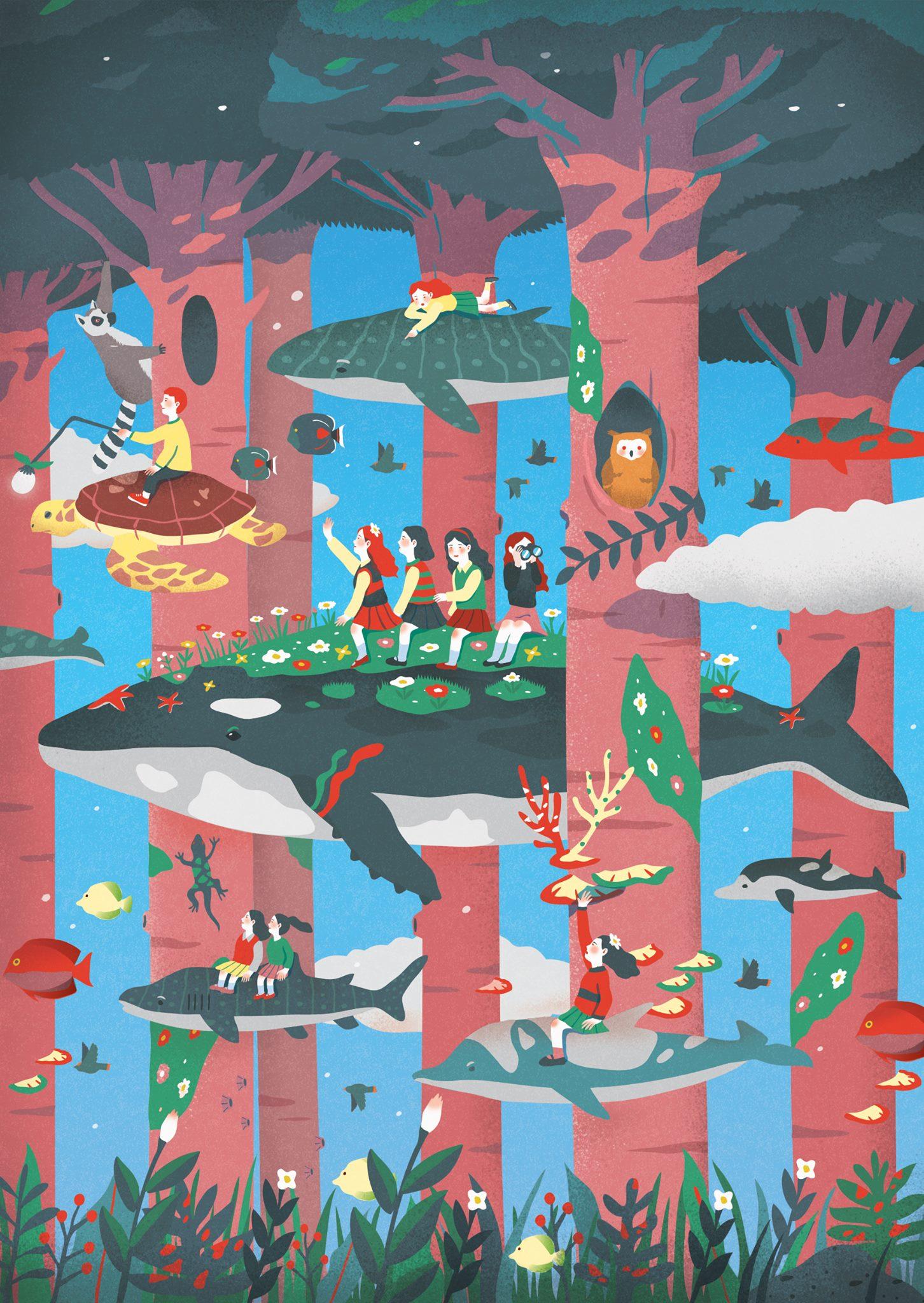 "Image: Oh My Girl LIAR LIAR EP, ""LIAR LIAR"" title track / WM Entertainment"