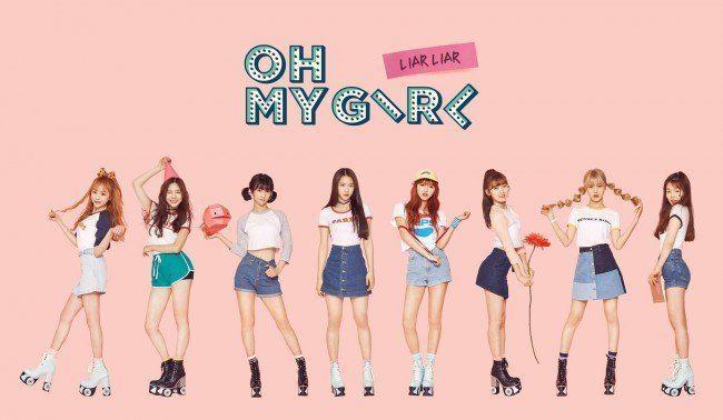 """Image: Oh My Girl """"LIAR LIAR"""" EP / WM Entertainment"""