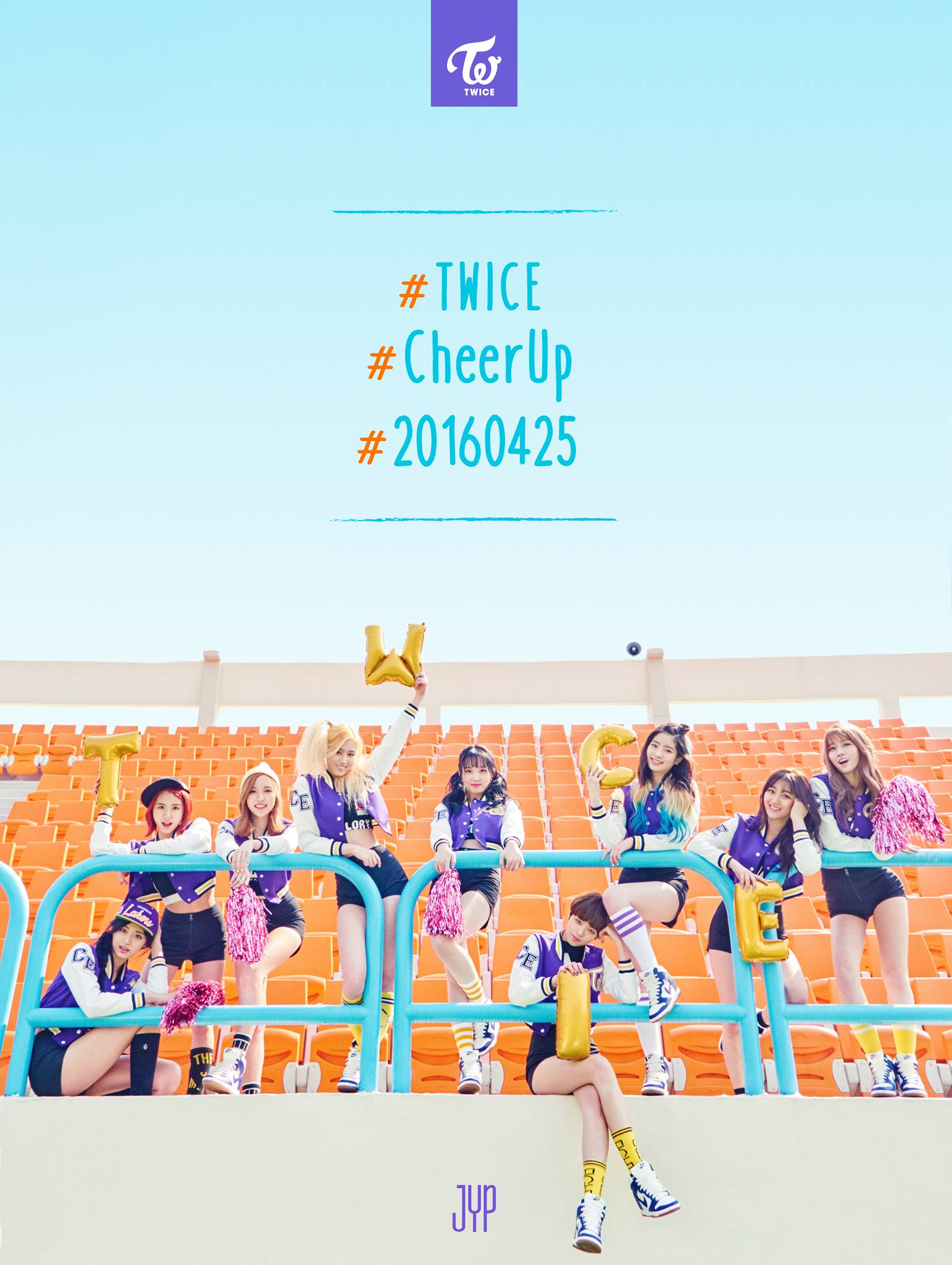 "Image: TWICE ""Cheer Up"" / JYP Entertainment"