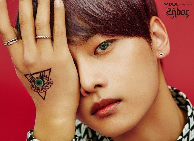Image: VIXX N for Zelos album / Jellyfish Entertainment