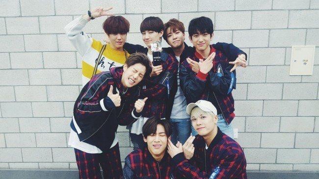 "Image: GOT7 wins 5th trophy for ""Fly"" / GOT7's Facebook"