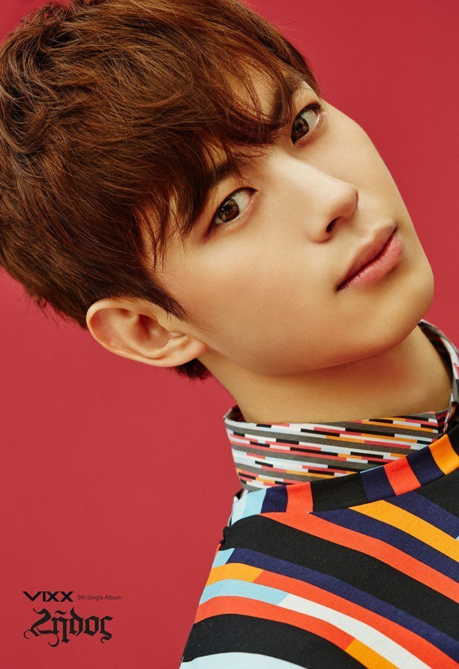 Image: VIXX Hongbin for Zelos album / Jellyfish Entertainment