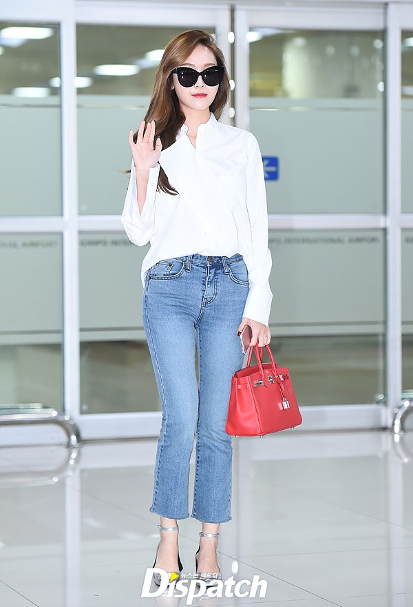 Jessica Jung Executes The Perfect Airport Fashion For Spring Koreaboo