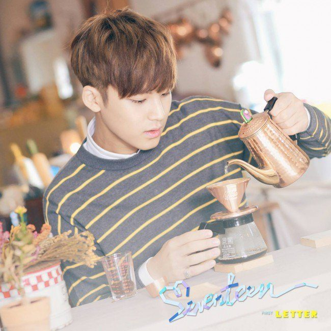 "Image: EVENTEEN Mingyu ""LOVE&LETTER"" / Pledis Entertainment"