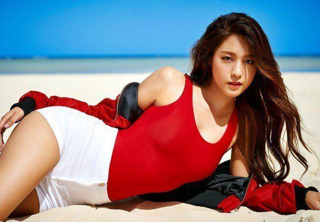 "Image: AOA Seolhyun ""Good Luck"" EP / FNC Entertainment"