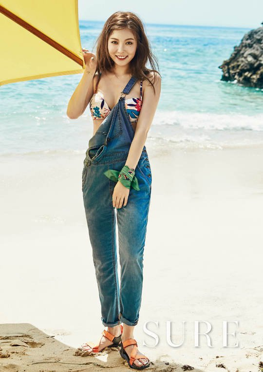"Hyuna for ""Sure"""