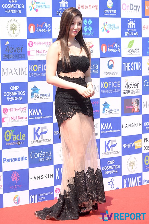 Image: Yoo Seung Ok at 'MAXIM K-MODELS AWARD' / TV Report