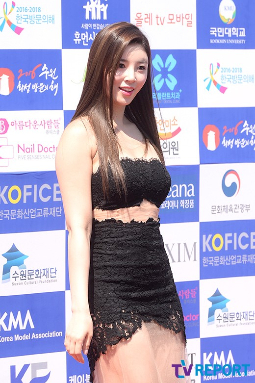Image: Yoo Seung Ok at 'MAXIM K-MODELS AWARD' / TV Report