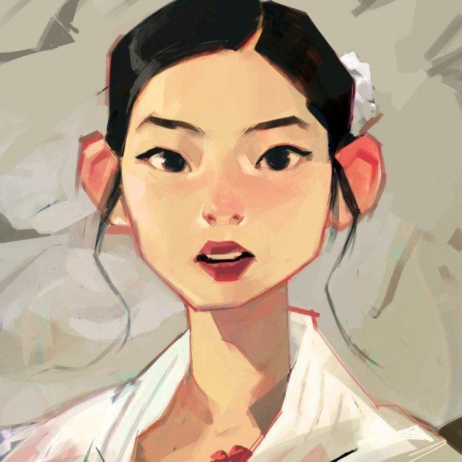 TWICE Dahyun / Drawing by Samuelyounart@Tumblr