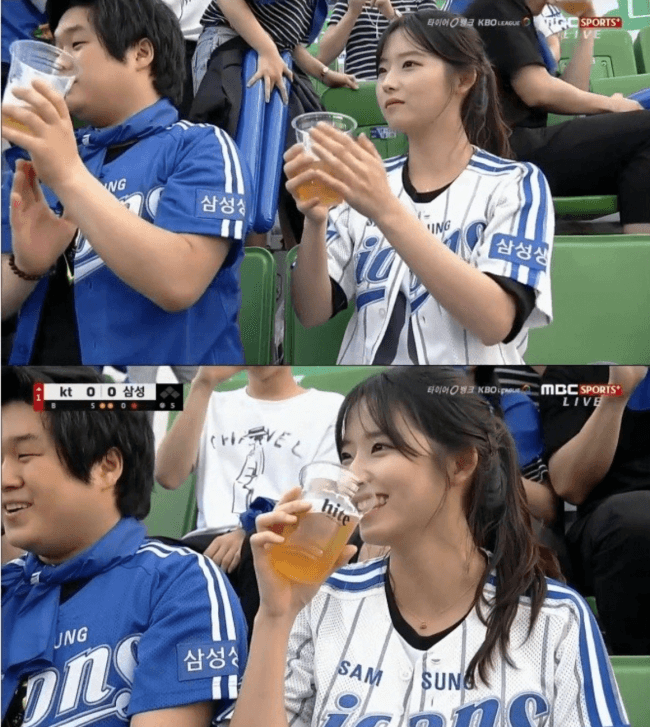 Who can resist a girl who loves beer?
