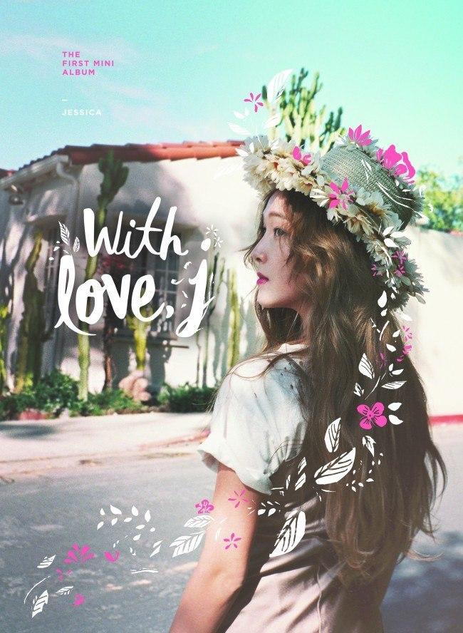 "Image: Jessica ""With Love"" EP / Coridel Entertainment"