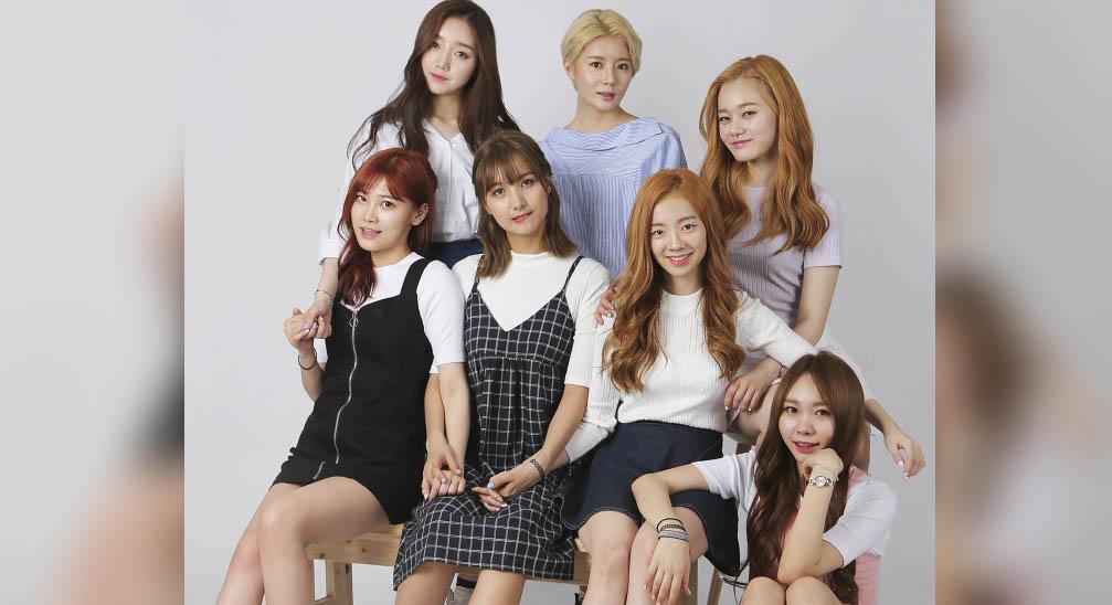 Image: 7-member girl group A.DE