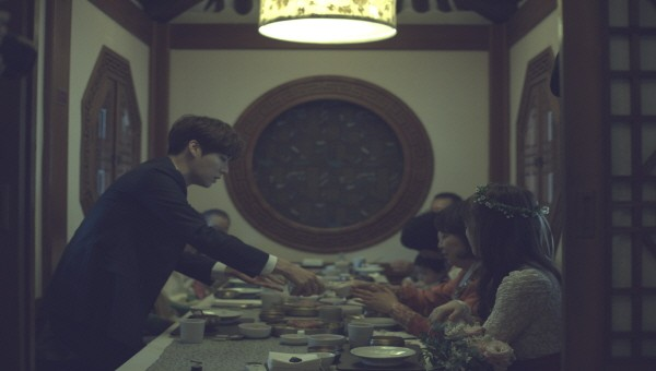 Image: Goo Hye Sun and Ahn Jae Hyun wedding dinner with family