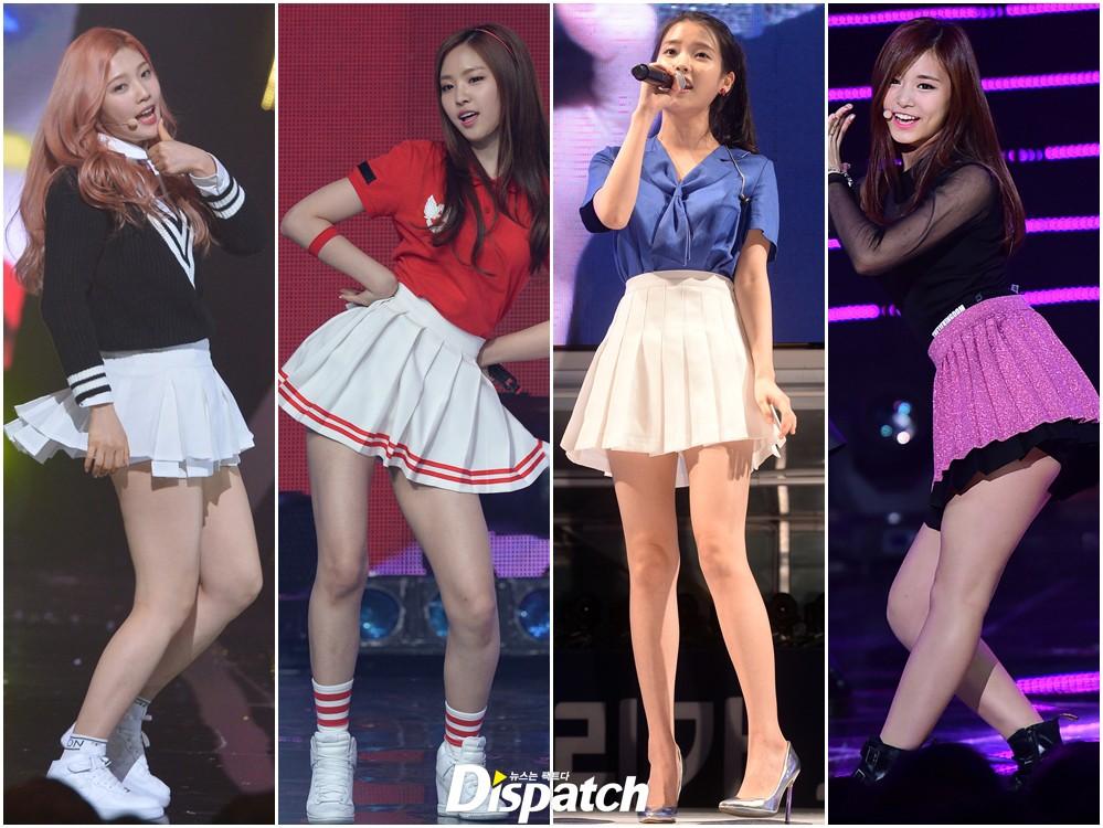 image Korean kpop bambino wearing no panties slow motion