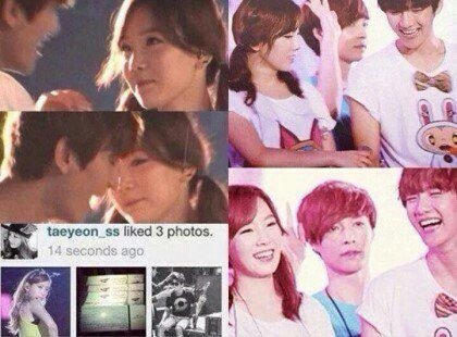 baekhyun and taeyeon fake dating