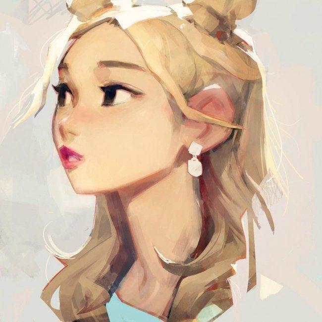 TWICE Sana / Drawing by Samuelyounart@Tumblr
