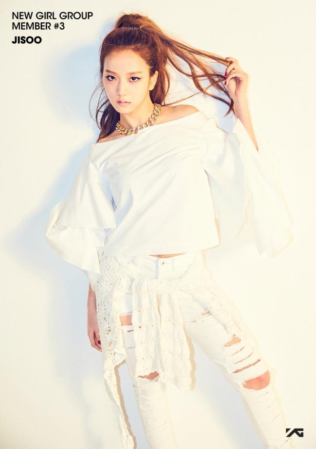 Image: Kim Jisoo for YG Entertainment's new girl group