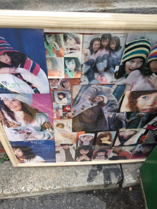 Image: Close up look of the Kim Min Hee fan-made collage reveals fan may have been a long time fan based on the older and younger looking photos of the actress.