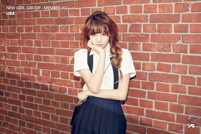 YG Entertainment New Girl Group Member Lisa