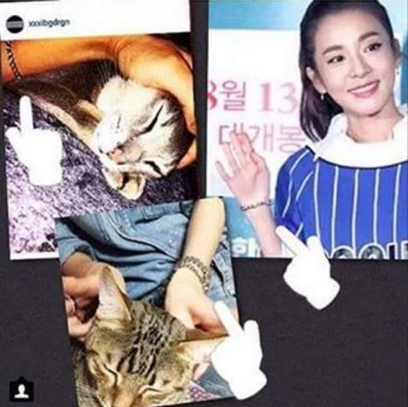 """Fan compilation of G-Dragon and Sandara Parks """"Lovestagram ..."""