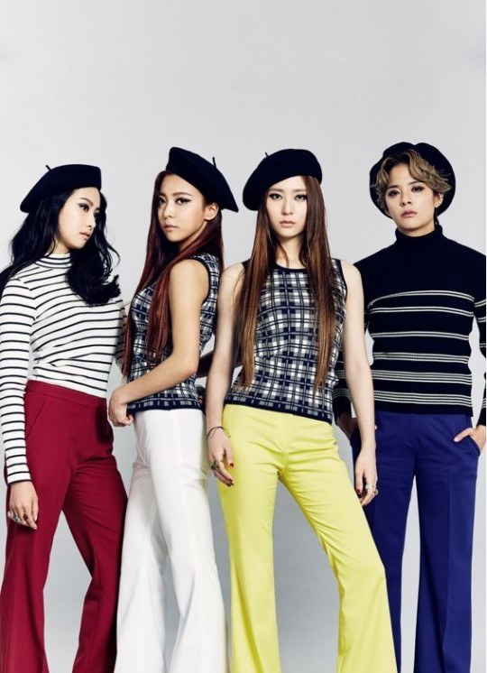 Image: SM Entertainment's girl group f(x)