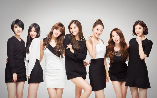 Image: DSP Media's girl group Rainbow