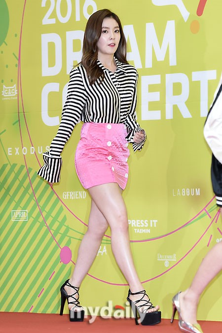 Red Velvet S Irene Mesmerizes Fans With Her Perfect Legs
