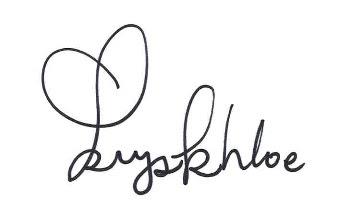 Kryskhloe Signature