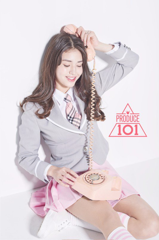 Image: Jeon Somi / Concept photo from Produce 101