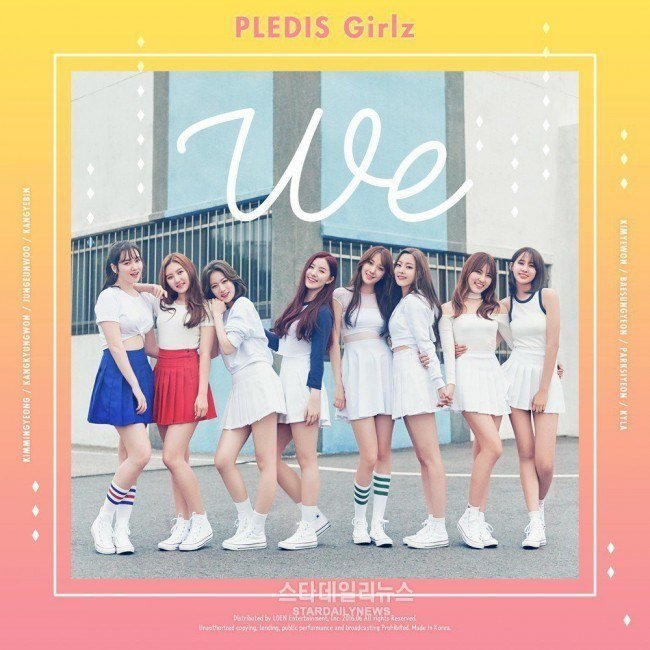 "Pledis Girlz ""We"" / Pledis Entertainment"