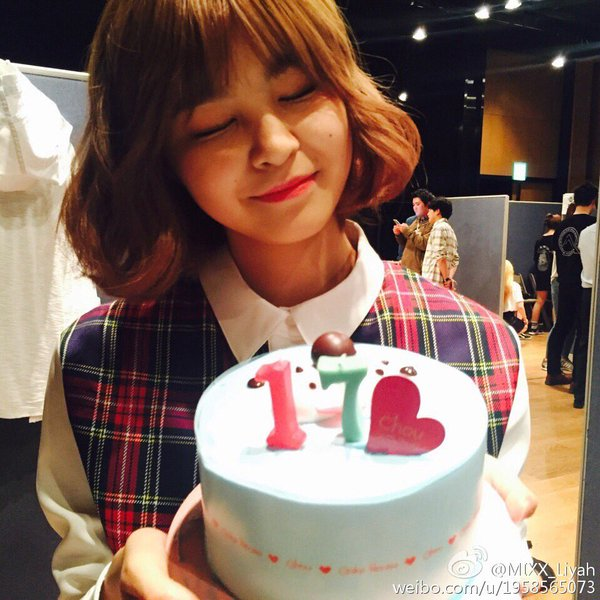 Image: MIXX's Liyah / From Liyah's weibo