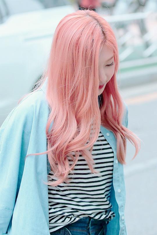 Red Velvet Ice Cream Cake Hair Color