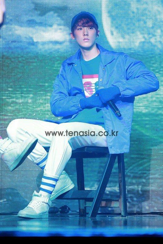 Image: ASTRO's Yoon San Ha / Photo taken by 10Asia