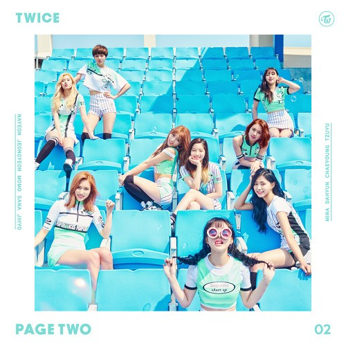 "TWICE's ""Page Two"" EP / JYP Entertainment"