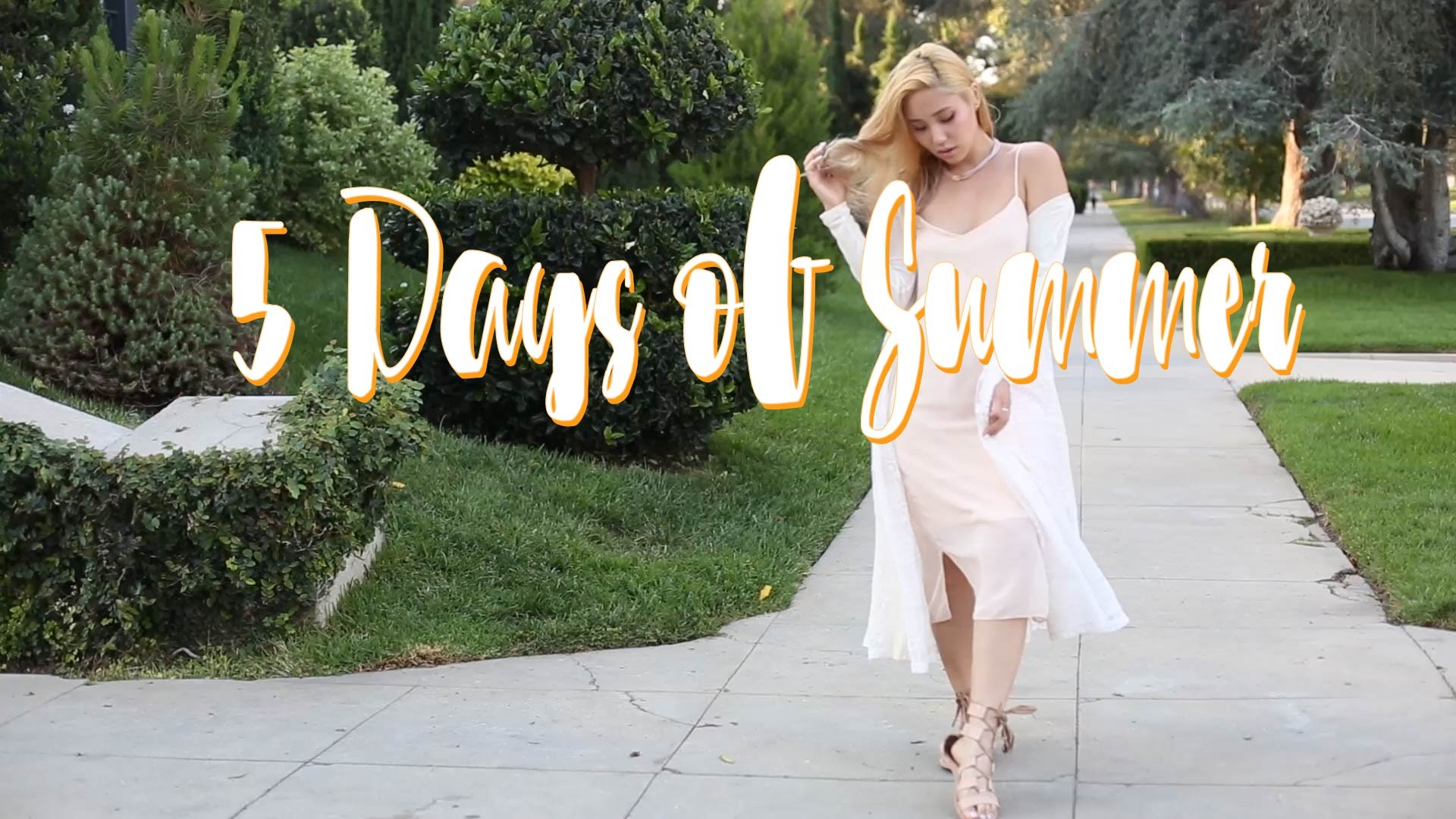 Image: Kryskhloe's 2016 Lookbook: 5 Days of Summer