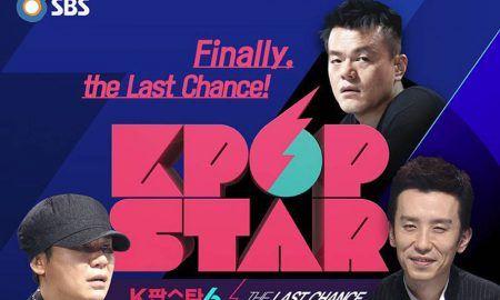 "Image: ""K-Pop Star - The Last Chance"" with J.Y. Park, Yang Hyun Suk, Yoo Hee Yeol (2016) / SBS"