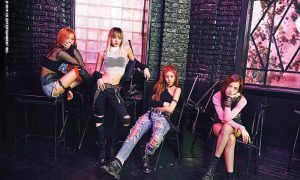 "Image: BLACKPINK group photo for album ""Square One"" Debut / YG Entertainment"