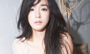 Tiffany, of Girls' Generation, for MAPS Magazine.