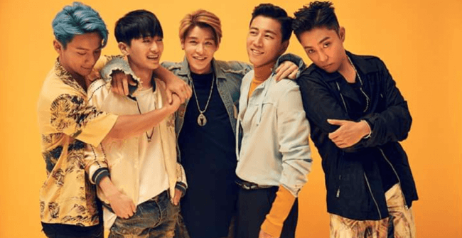 Image: Five members of Sech Kies / YG Entertainment