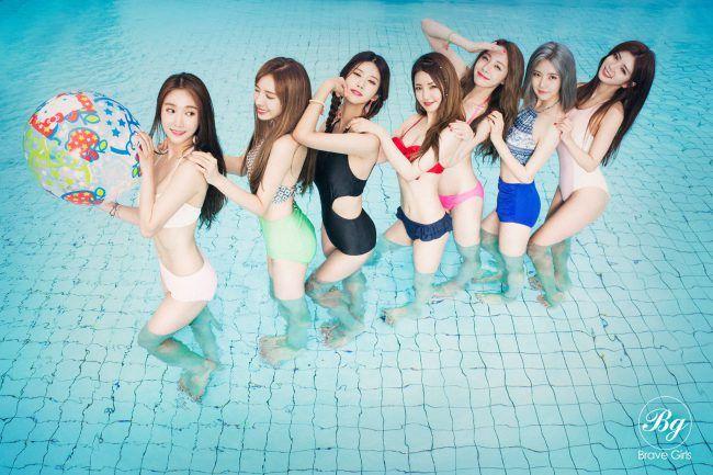 "Image: Brave Girls for ""Yoo Hoo"" digital single (2016) / Brave Entertainment"